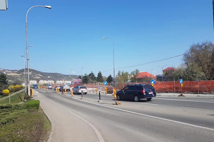 Clujenii se plâng că nu se muncește la Podul N: Nu prea vedem muncitori pe șantier - FOTO
