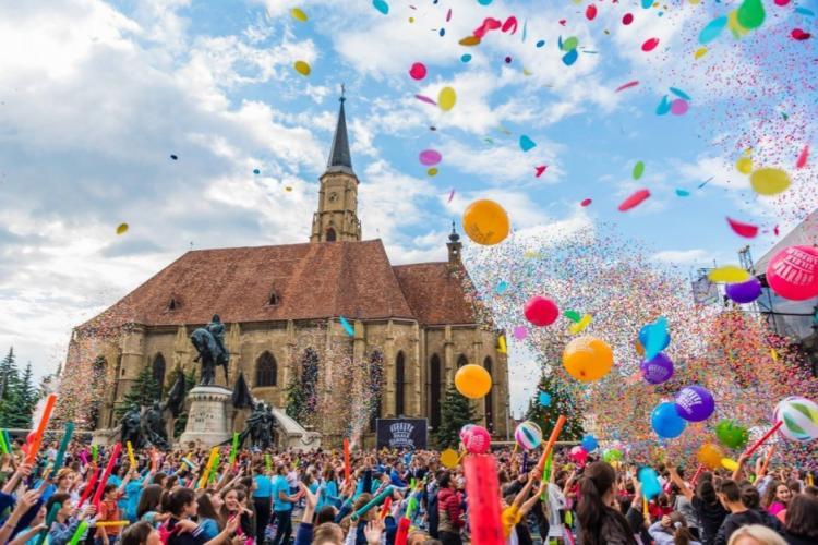 Zilele Clujului 2019. S-a anunțat când are loc evenimentul