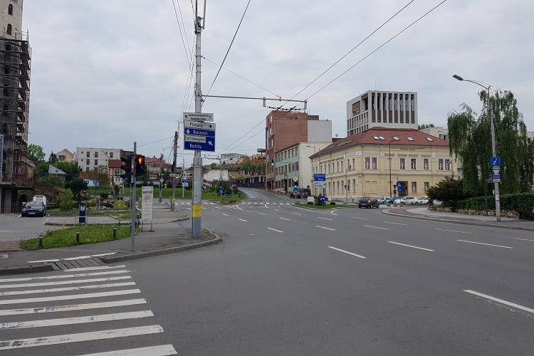 Clujul dimineața la 7 este gol. Soluția pentru a mai elibera din traficul de după 8.30 - VIDEO
