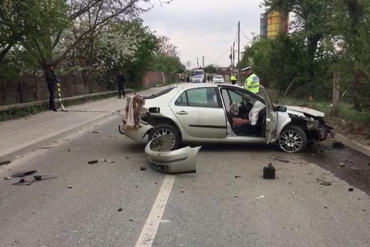 Accident pe Calea Dezmirului! Ocupanții au fugit din mașină. Cel de la volan a fost arestat - FOTO