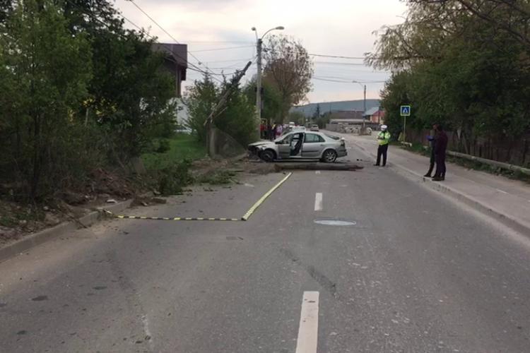 """Polițiștii care au anchetat accidentul de pe Calea Dezmirului au lucrat ca la """"carte"""". Cel de la volan REȚINUT - FOTO"""