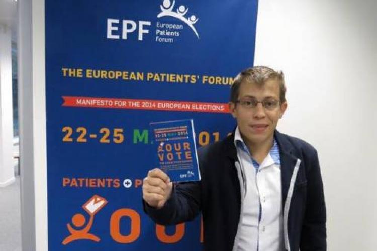 Radu Ganescu, presedintele COPAC România, reales în funcția de vicepreședinte al European Patient Forum