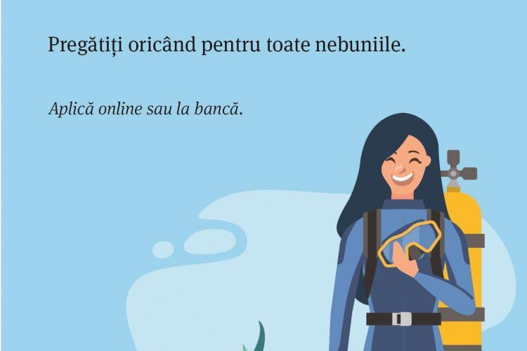 Banca Transilvania oferă discount la creditul de nevoi personale cu rate fixe