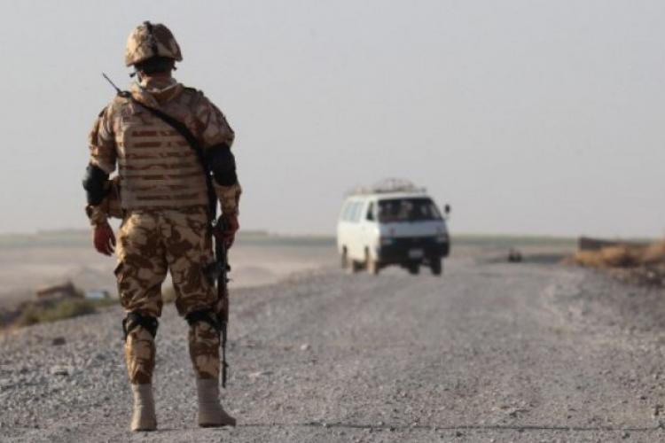 Militari români răniți în Afganistan, în timpul unei misiuni
