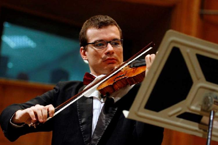 Alexandru Tomescu și vioara Stradivarius Elder-Voicu vin la Cluj-Napoca în 9 mai