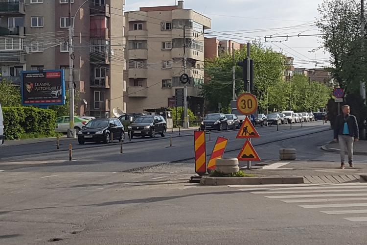 Lucrările pe Bulevardul Nicoale Titulescu mai durează încă 6 săptămâni