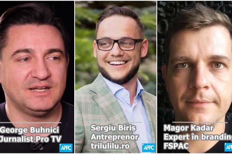 APPC Cluj: George Buhnici, Sergiu Biriș și Magor Kadar invitați la Cluj Press Talks, prima ediție