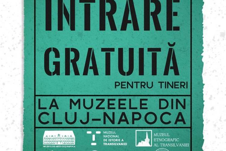 """Tinerii au intrare gratuită la muzeele din Cluj, de """"Ziua Tineretului"""""""