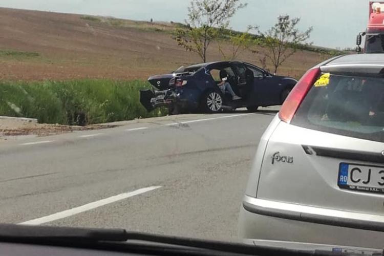Accident cu trei victime pe un drum din Cluj, cauzat de un șofer neatent