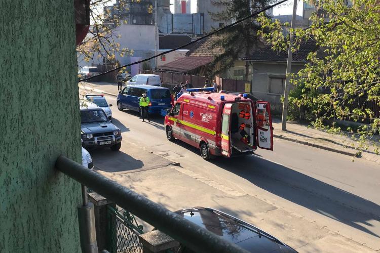 Șofer mort la volan în trafic, la Cluj FOTO