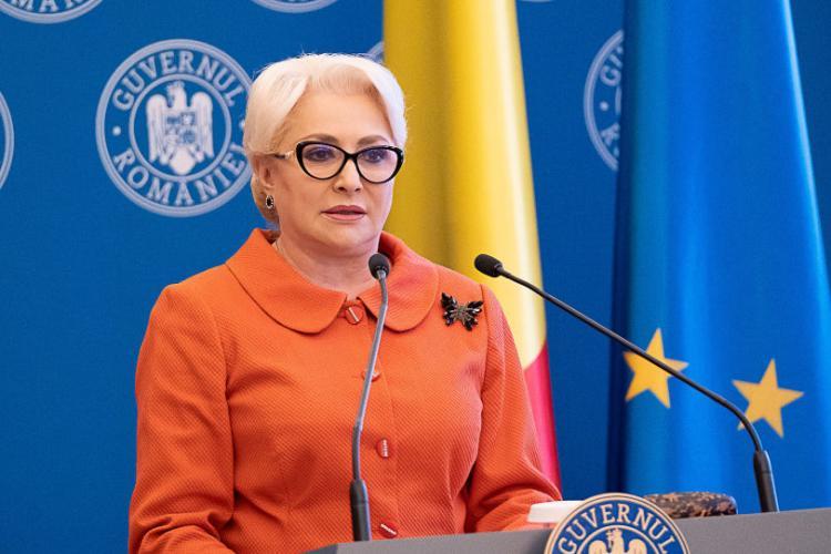 Premierul Viorica Dăncilă așteptată joi la Cluj-Napoca. Care este programul