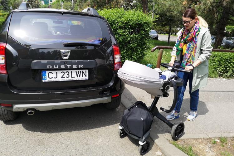 Cum au parcat primarii la intalnirea cu Dancila de la Cluj. Au blocat o mamica -VIDEO