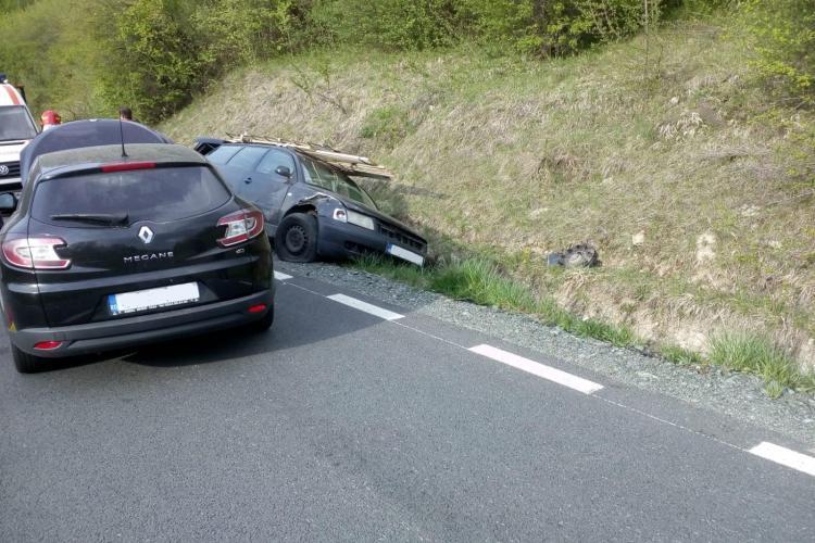 Accident cu trei mașini la Sfântu Ion - FOTO