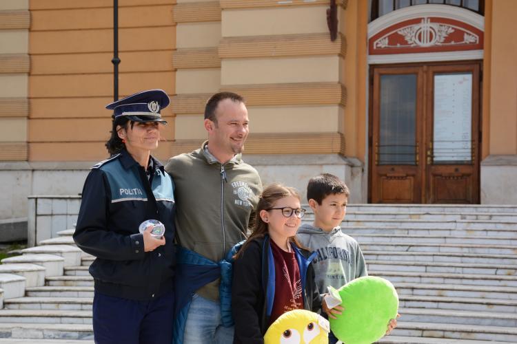 Acțiuni ale Poliției la Cluj, în perioada sărbătorilor Pascale FOTO