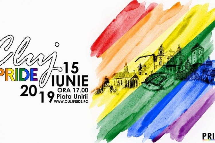 Marșul gay Pride 2019 va avea loc în centrul Clujului. Ce anunță organizatorii