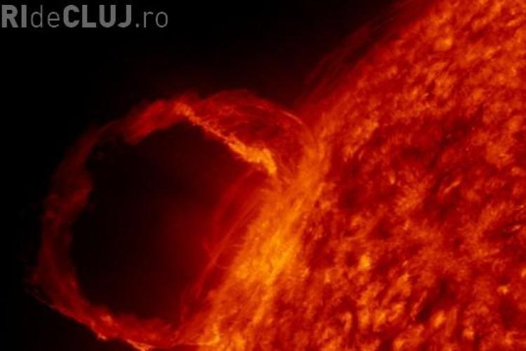 Eruptie solara puternica in perioada 8-11 decembrie