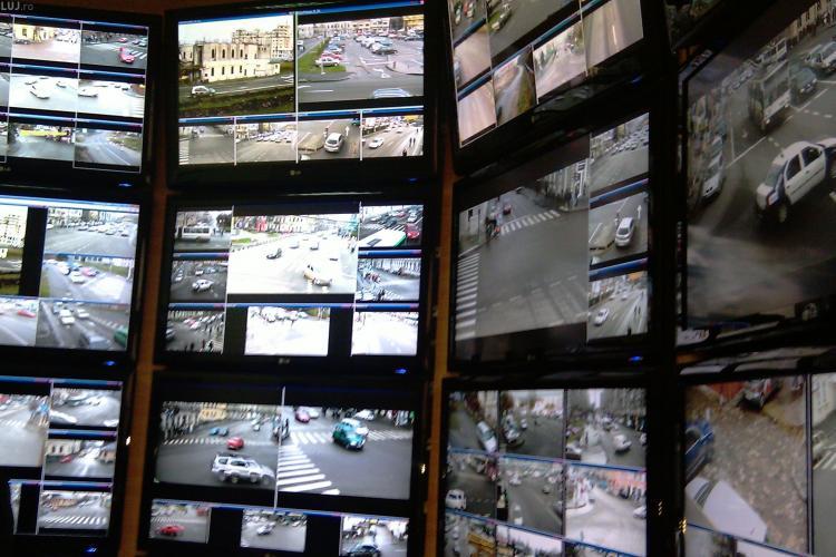 Vezi unde sunt amplasate cele 220 de camere de supraveghere montate in Cluj Napoca