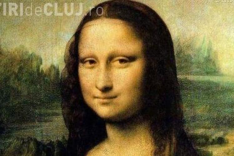 Ochii Mona Lisei contin numere si litere! - FOTO