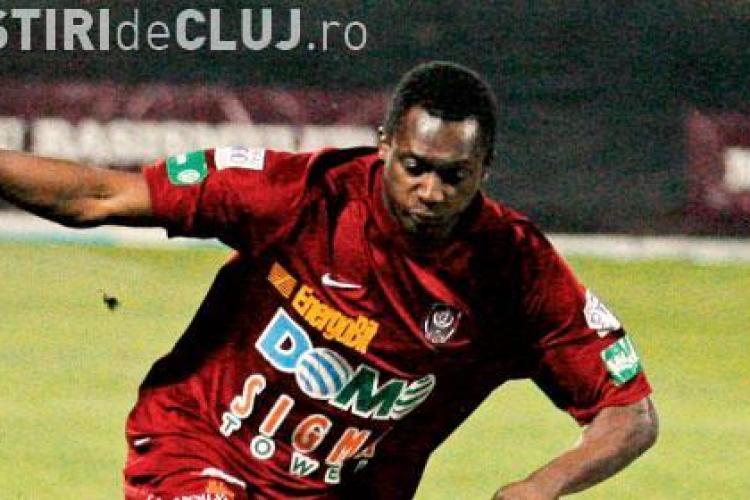 Ivorianul Yssouf Kone pus pe lista de transferuri de oficialii CFR Cluj