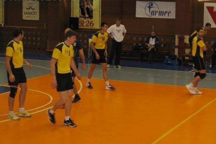 Volei: Unirea Dej a invins echipa croata Mladost Zagreb