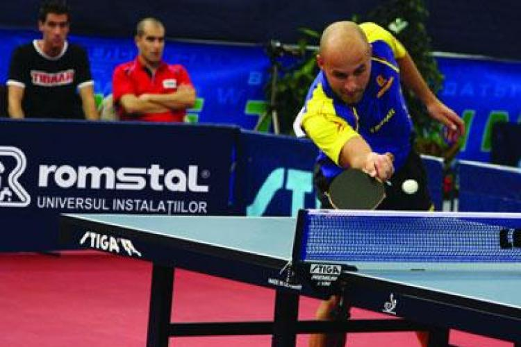 Turneu de tenis de masa la Sala Sporturilor, sambata si duminica