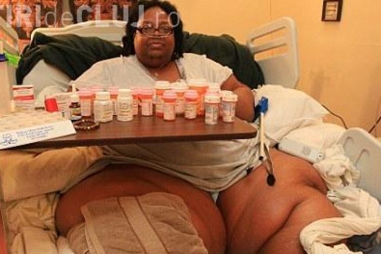 Vezi cum arata cea mai grasa femeie din lume - FOTO