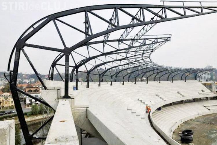 """Stadionul municipal """"Cluj Arena"""" se scumpeste cu 8,9 milioane de euro! Vezi pe ce se cheltuie banii"""