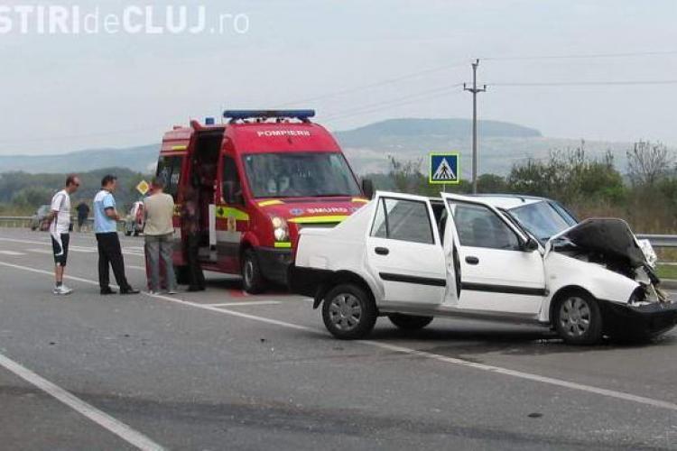 Accident pe centura Gherla! O femeie de 55 de ani a fost ranita