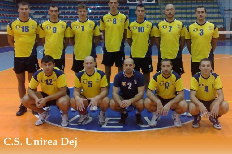 Unirea Dej s-a calificat in optimile Cupei Challenge la volei dupa ce a invins Mladost Zagreb cu 3-1