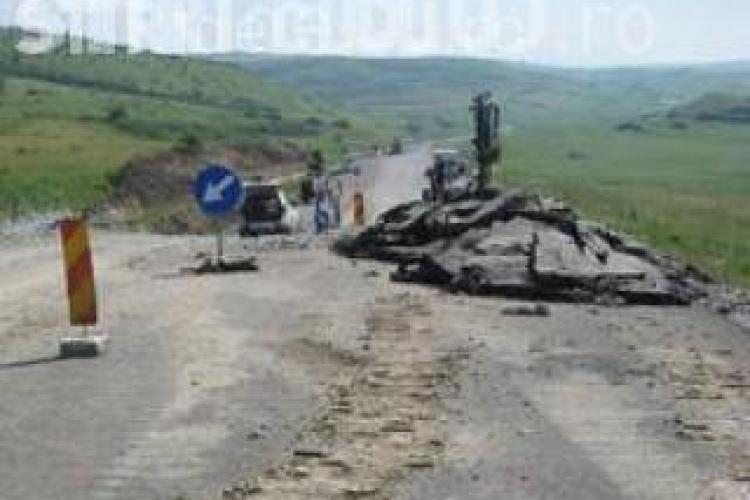 Centura Apahida-Valcele va fi gata abia anul viitor, desi finalizarea era programata pentru 2010