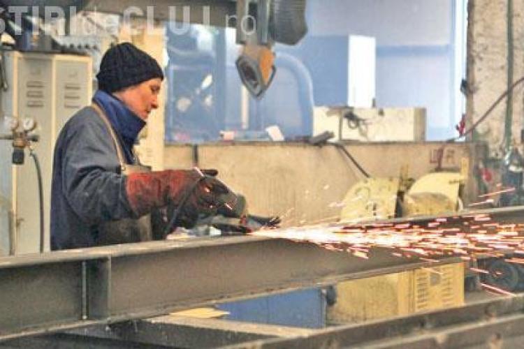 Productia industriala este in crestere in judetul Cluj, dar importam mai mult decat exportam