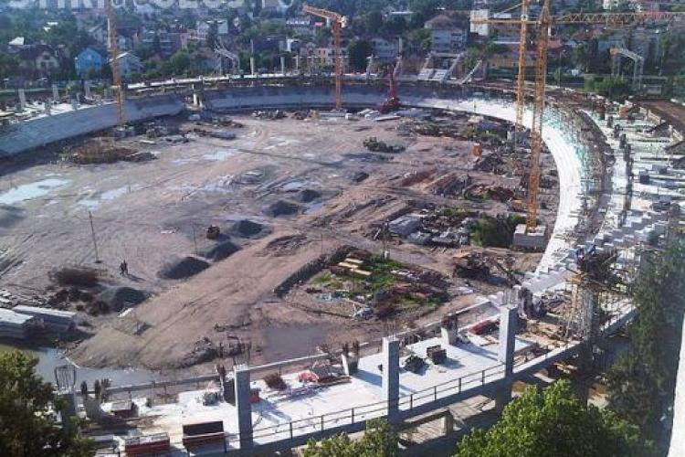 """Cluj Arena, cand va fi gata? Aflati in aceasta seara de la ora 21,00 pe TVR Cluj la """"Ora de Sport"""""""