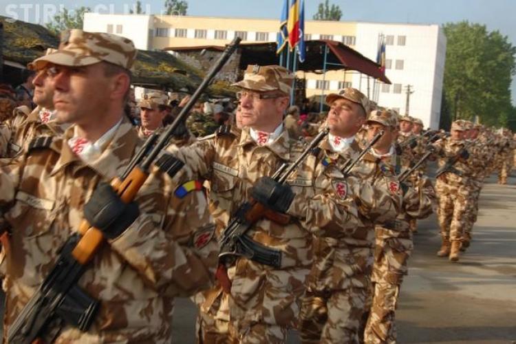 """""""Dragonii Transilvani"""" de la Dej s-au intors din Afganistan si primesc joi, 23 decembrie, onorul"""