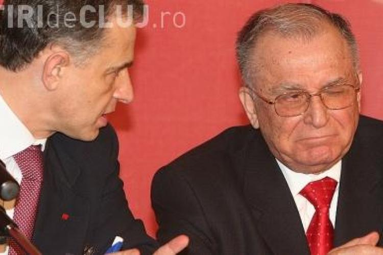 """Iliescu crede ca """"Geoana e de un penibil extraordinar si Ponta e impulsiv"""""""