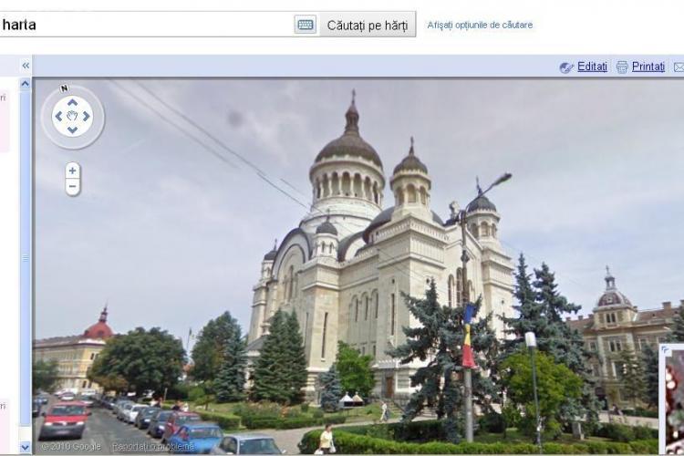 Cluj Napoca a ajuns pe Google Street View - VEZI cum arata principalele obiective din oras FOTO