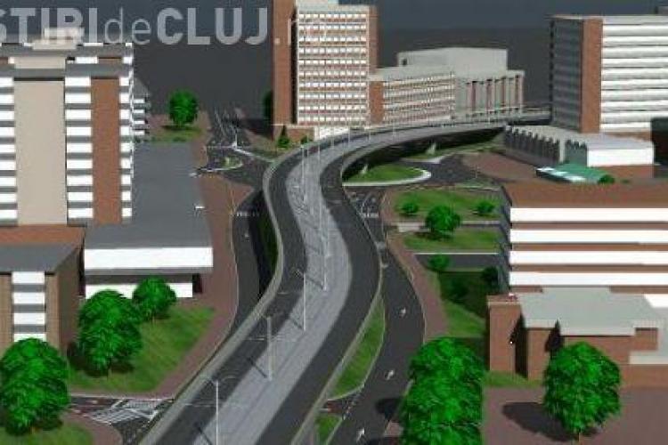 PSD Cluj vrea o sosea suspendata de 5 kilometri peste Somes! Investitia ar fi de 25 de milioane de euro - FOTO