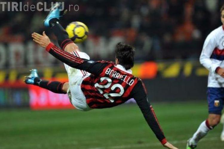 Gol Marco Boriello! CFR Cluj - AS Roma 0-1 / VIDEO