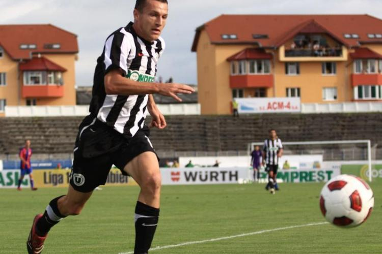 Ungurusan si-a prelungit pe doi ani contractul cu U Cluj