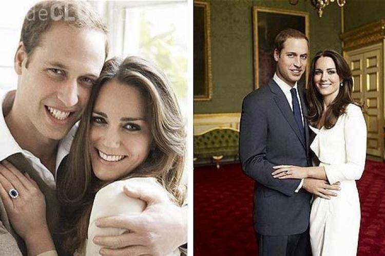 "Printul William si Kate Middleton, ""imbunatatiti"" in Photoshop"