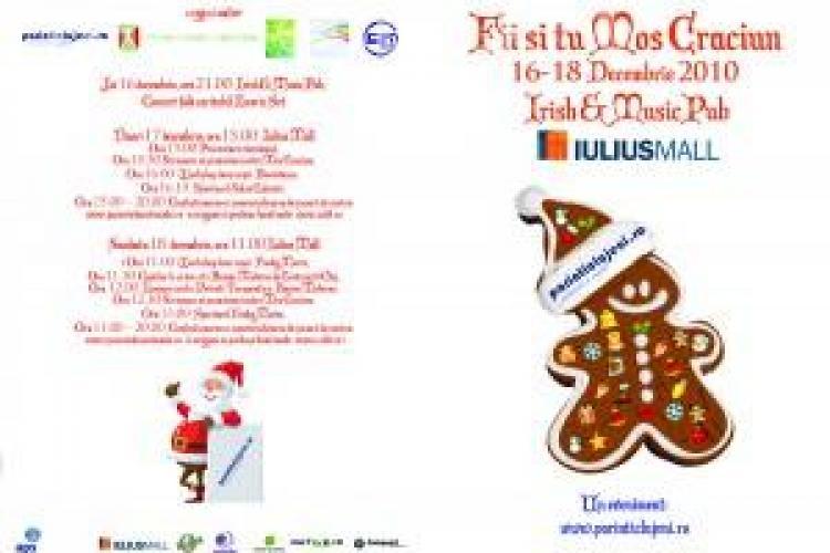 Fii si tu Mos Craciun, la Cluj, in perioada 16-18 decembrie