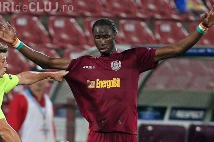 """Traore este o forta a naturii"", crede fostul antrenor al echipei CFR Cluj, Maurizio Trombetta"