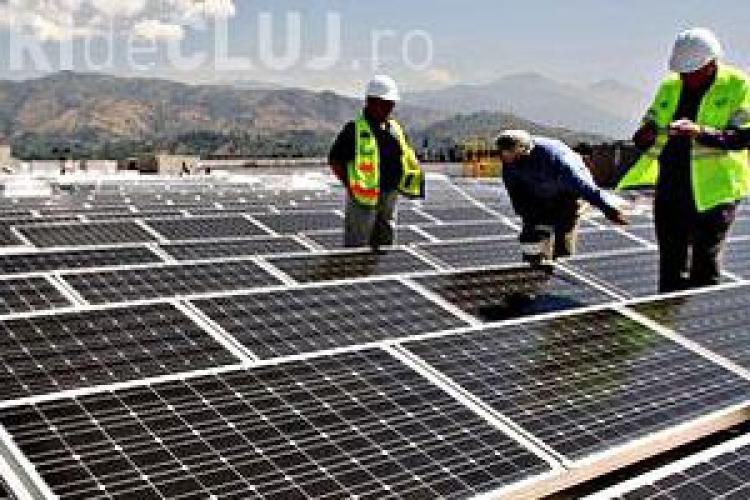 Cluj Napoca va fi alimentat din 2012 cu energie solara! Parcul fotovoltaic de 190 de hectare este cel mai mare din Romania
