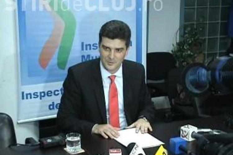 """Emilian Rosca, seful ITM Cluj, este acuzat de liberali ca """"terorizeaza"""" intreprinzatorii!"""