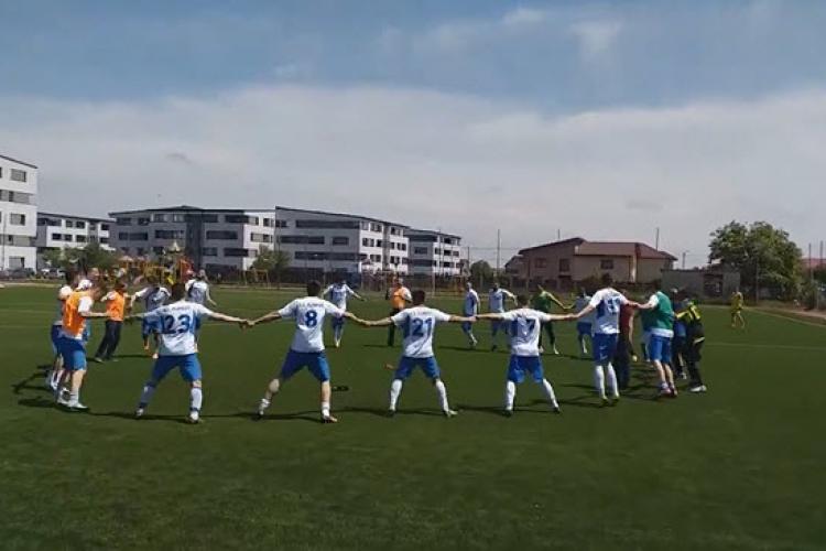 CS Floreşti a câștigat Liga a IV-a și e campioană