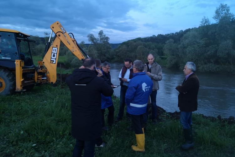 Gherla si Dej fara apa din cauza unei avarii majore / UPDATE: Avaria a fost rezolvată - VIDEO