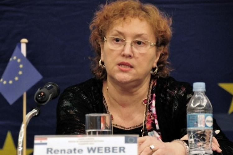 Renate Weber, candidatul ALDE la europarlamentare: În Europa, cu demnitate!