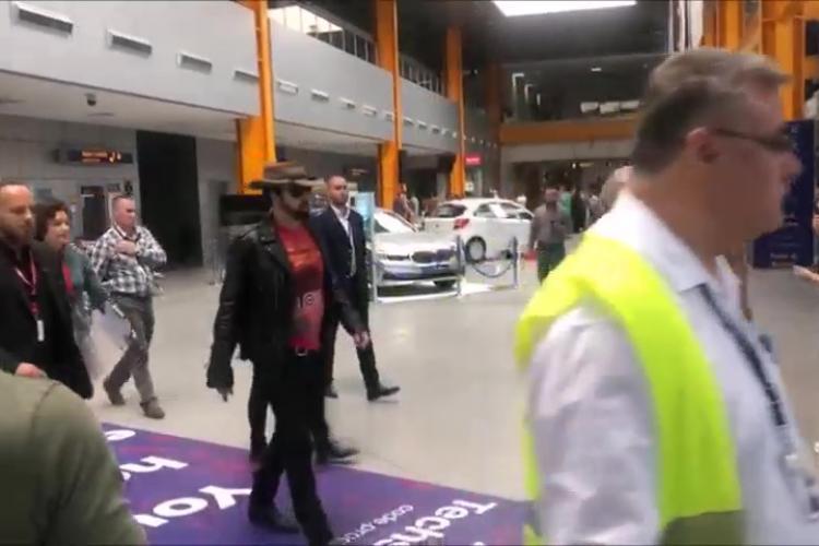 Nicolas Cage a ajuns la Cluj. Cum arată actorul american. De ce s-a supărat starul - VIDEO
