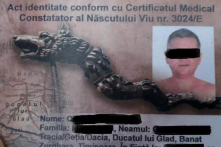 """Un român s-a legitimat cu un buletin de """"născut viu"""", dar a fost amendat cu 4.000 de lei"""