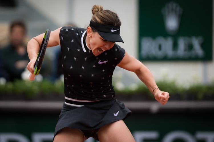 Simona Halep - Amanda Anisimova 2-6, 4-6. Simona e eliminată de la Roland Garros