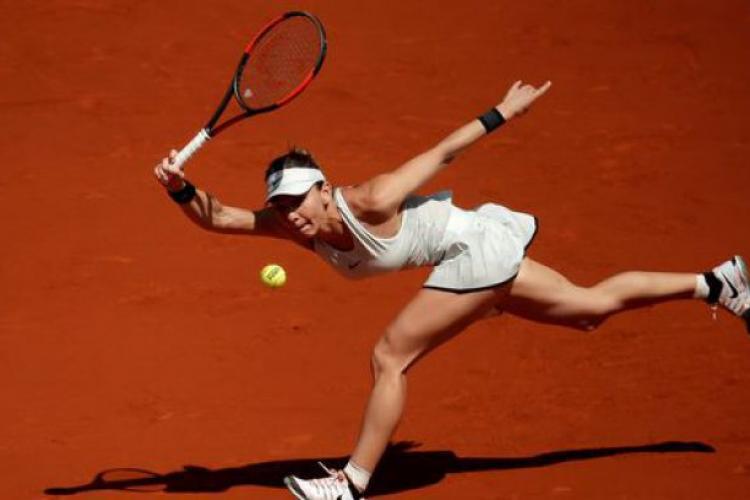 Simona Halep, surpriză la Roland Garros. Cum s-a terminat meciul cu Magda Linette
